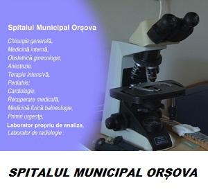spitalul municipal orsova